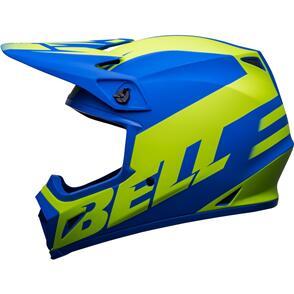 BELL MOTO HELMETS 2022 MX-9 MIPS DISRUPT BLUE/HI-VIZ